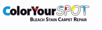 Color Your Spot Bleach Stain Carpet Repair